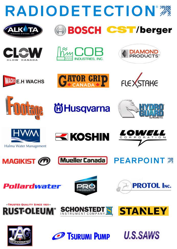Une image regroupant plusieurs de nos fournisseurs.